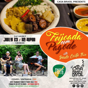 Feijoada Com Pagode July Flyer 1-4-2