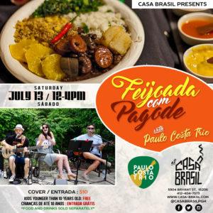 Feijoada Com Pagode July Flyer 1-4-2